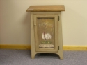 Hall Cabinet with Print  -  Cat No: 420  -  Click To Order  -  ID: 873